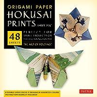 "Origami Paper Hokusai Prints (Large 8 1/4"")"