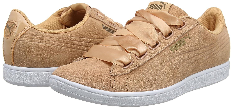 Puma Damen Vikky Ribbon SD P Sneaker, Orange (Dusty (Dusty (Dusty Coral-dusty Coral 02) f7db0c