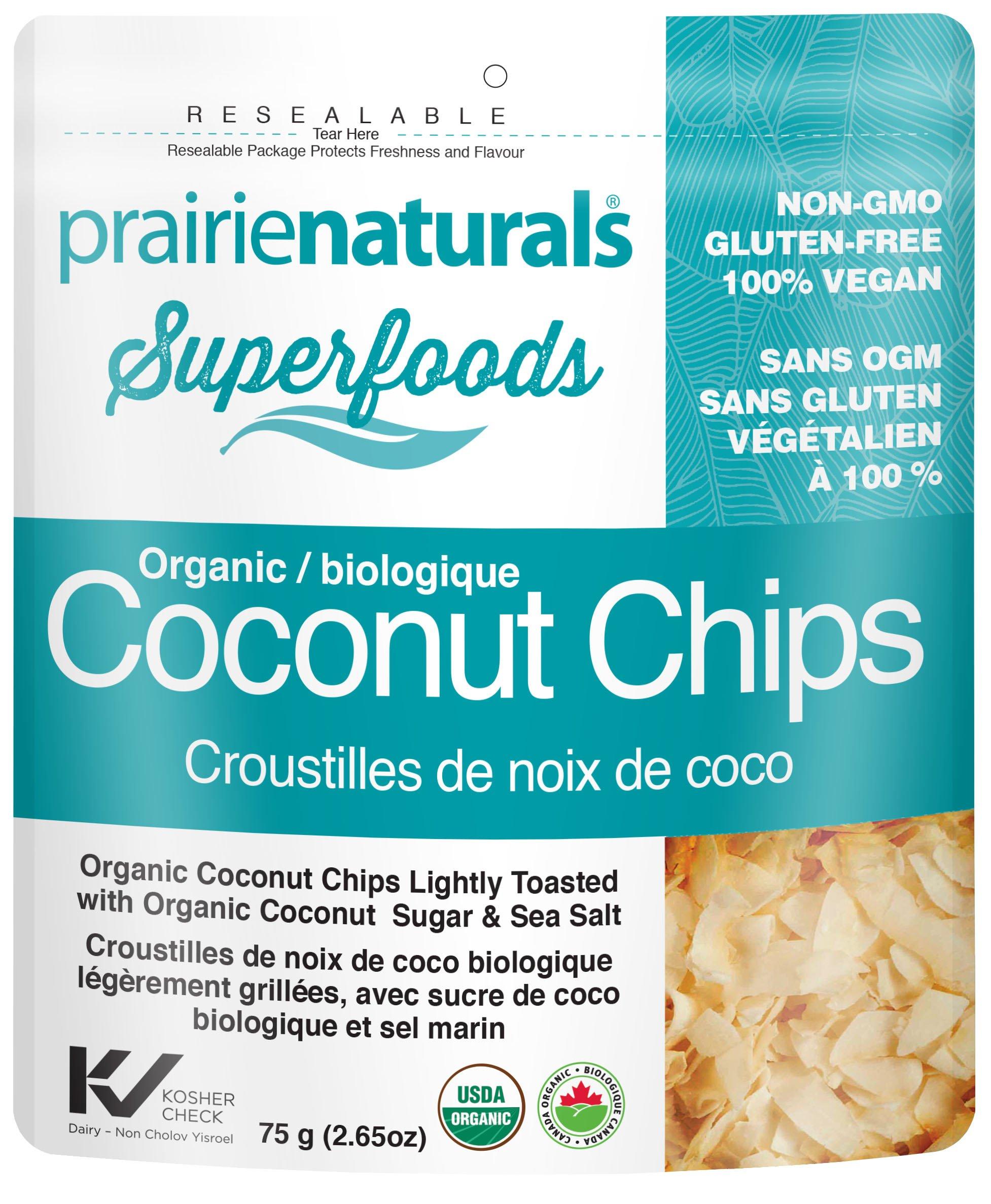 Prairie Naturals Coconut Chips, 60 g