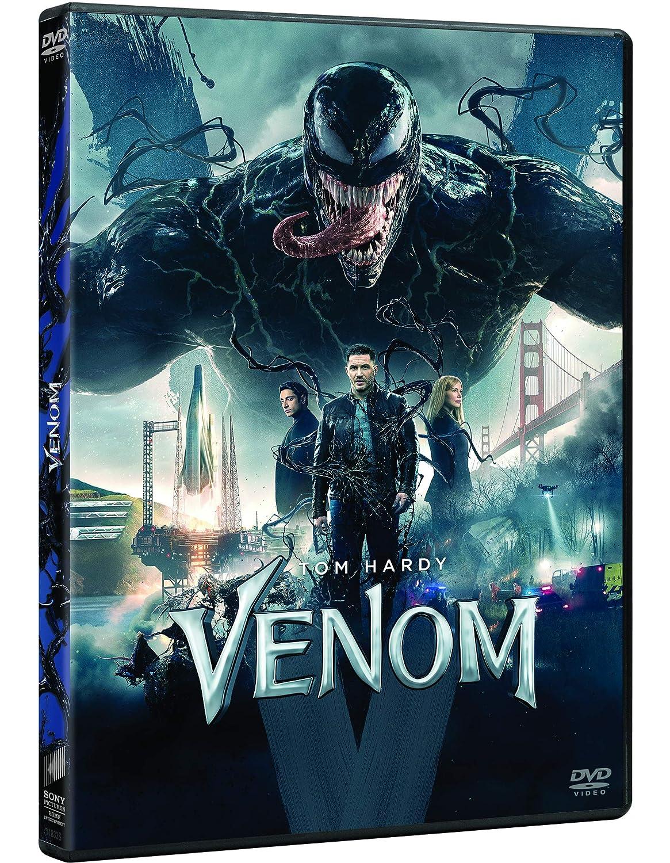Venom [DVD]: Amazon.es: Tom Hardy, Michelle Williams, Riz ...