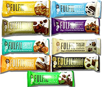 fulfil – Vitamina & proteína barritas – Mix Box – 15 barritas ...