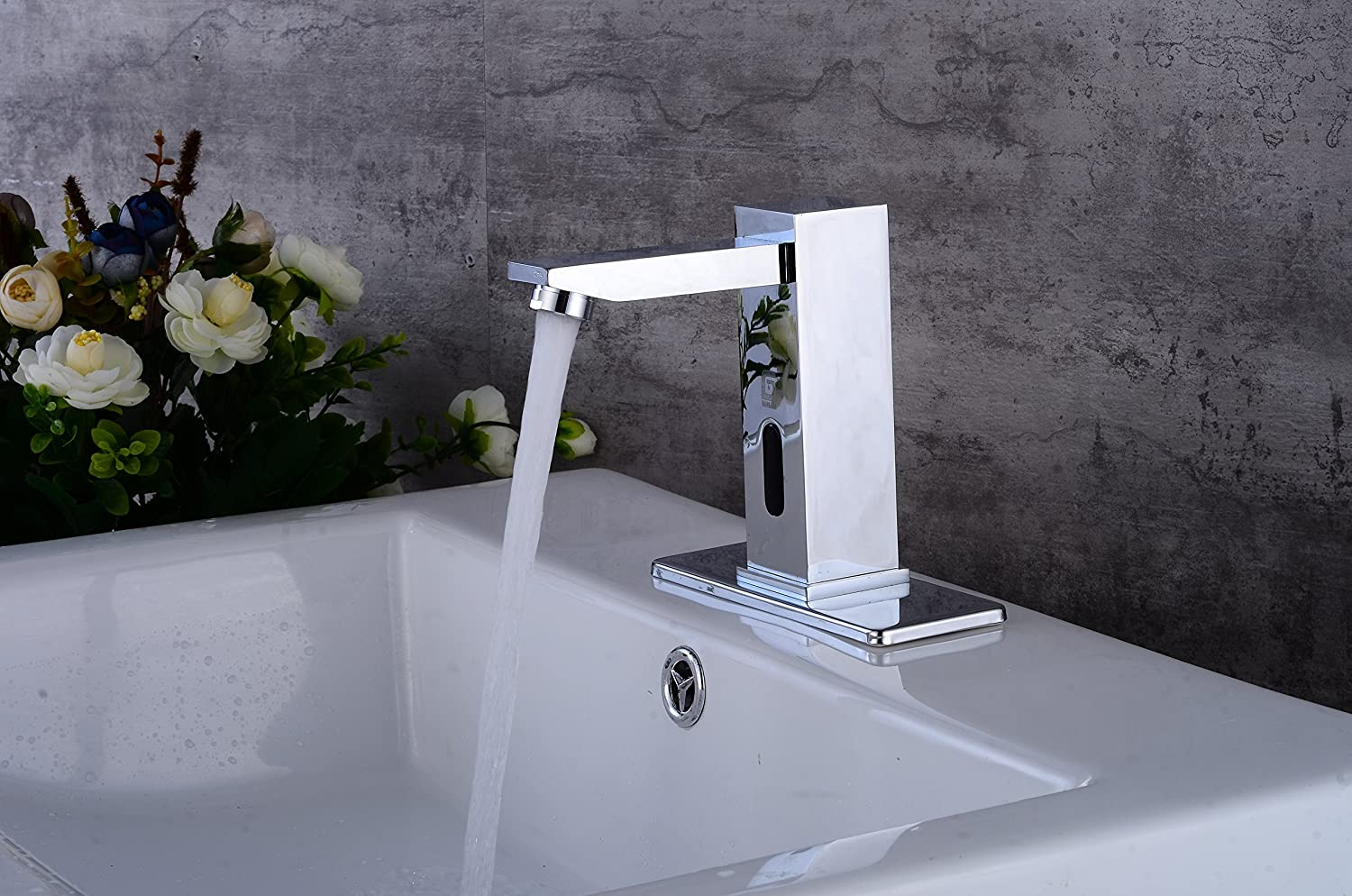Gangang Automatic Faucet Square Body Touchless Sensor Waterfall Bathroom Sink Vessel Orb Wiring Diagrams