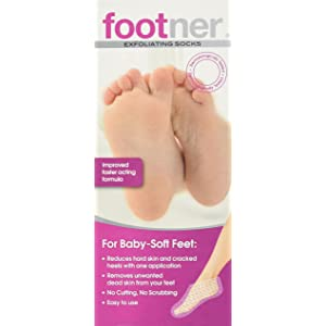 Footner Exfoliating Socks Total Callus Remover by Footner