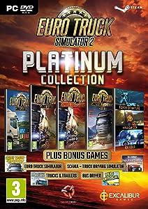 Euro Truck Simulator 2 - Platinum Collection PC DVD (English Edition)