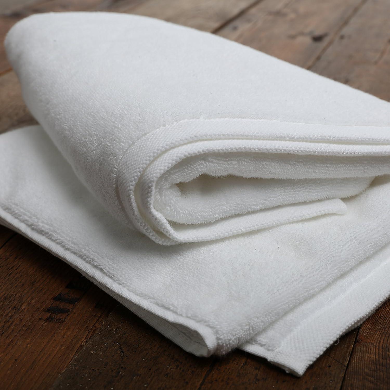 Ultimate 750 G/m², algodón Supima – Toalla de baño, color blanco ...
