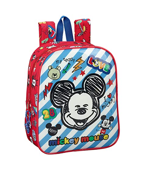 "Mickey Mouse ""Maker"" Oficial Mochila Infantil 220x100x270mm"