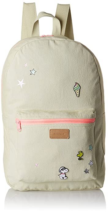 81121609, Womens Backpack Handbag, Blau (Light Blue), 12x45x30 cm (B x H T) Codello