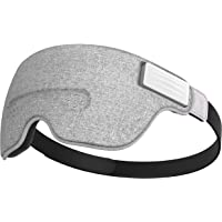 Luuna Brainwave Brain Sensing Bluetooth Smart Sleep Mask Built-in Music/Sounds, Wireless Connection to Most Devices with…