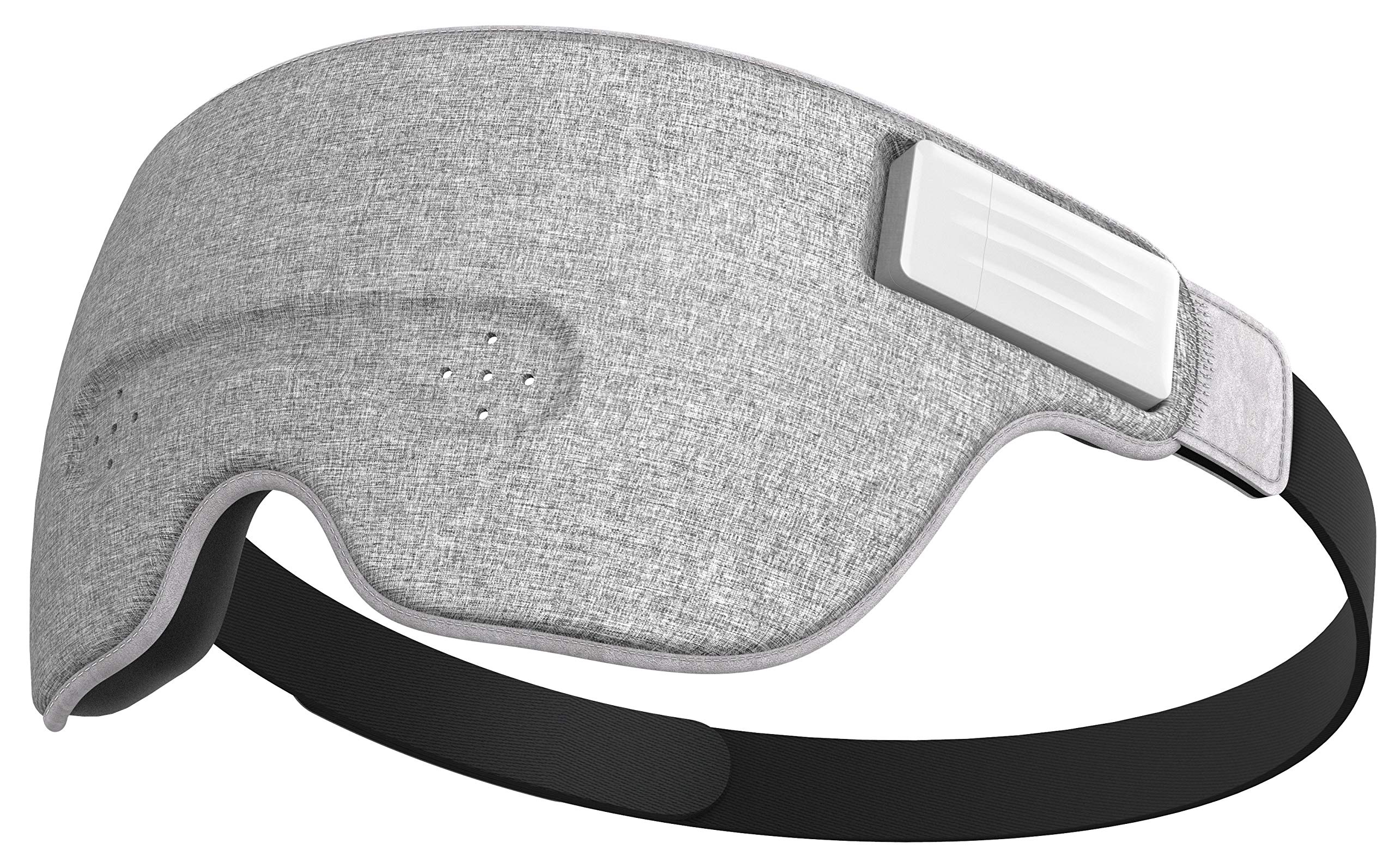 Ivation Luuna Brainwave Brain Sensing Bluetooth Smart Sleep Mask Built-in  Music/Sounds, Wireless Connection to Most Devices with EEG and AI  Technology