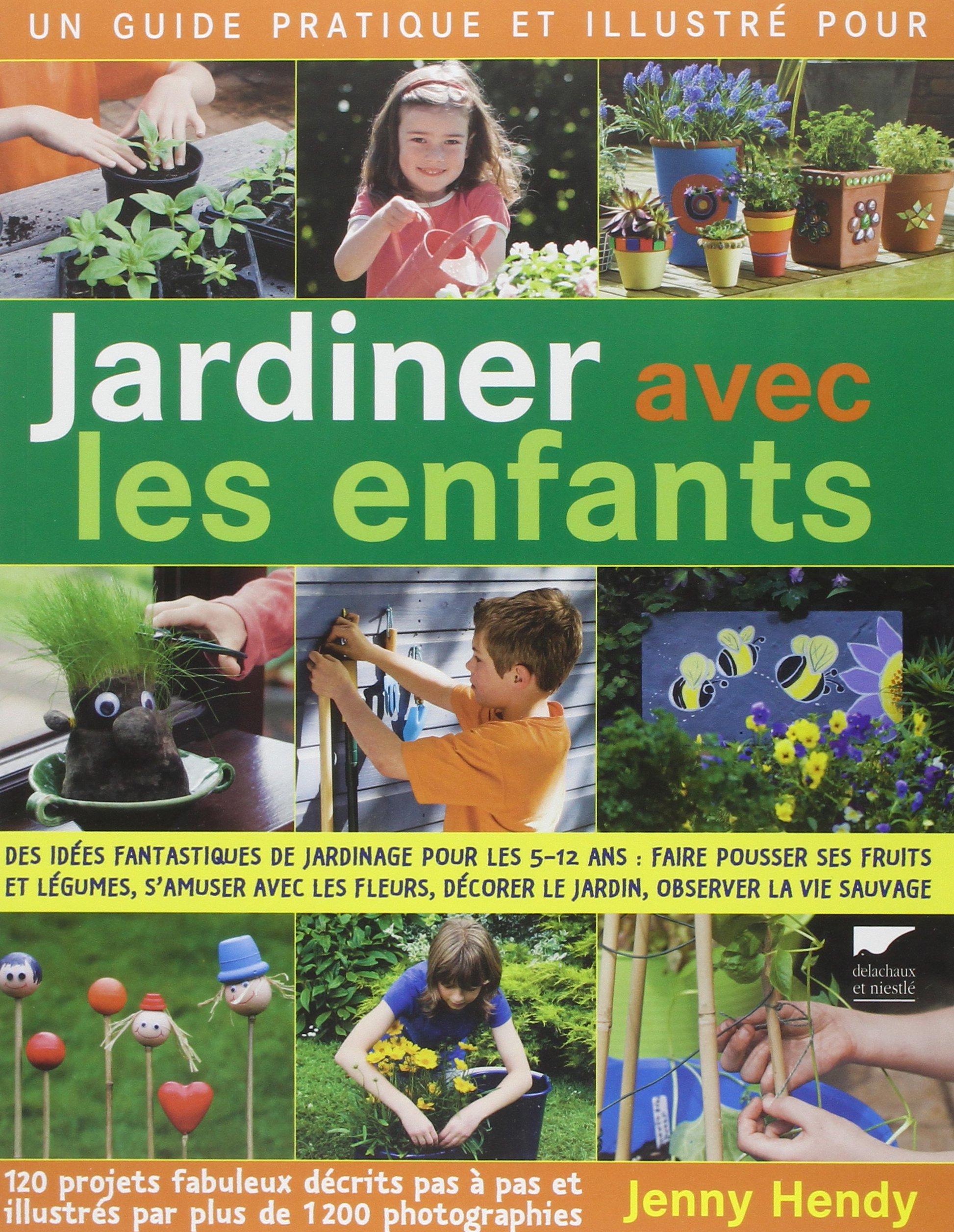 Amazon Jardiner avec les enfants Jenny Hendy Livres