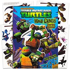 Teenage Mutant Ninja Turtles Decals Bundle ~ Over 25 Wall Stickers for Boys Kids Toddlers (TMNT Room Decor)