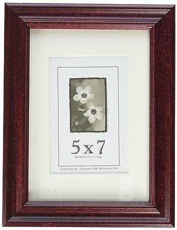 Amazoncom Classic Frames 5 X 7 Cherry Single Frames