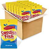 SWEDISH FISH Soft & Chewy Candy, 12 - 8 oz bags