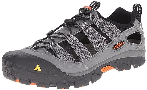 Keen - Zapatillas de Ciclismo de Tela para Mujer Gris Gargoyle/KOI: Amazon.es: Zapatos y complementos
