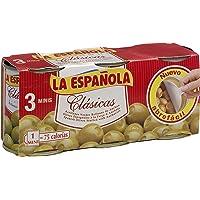 La Española Clásicas Aceitunas Verdes Rellenas de Anchoa