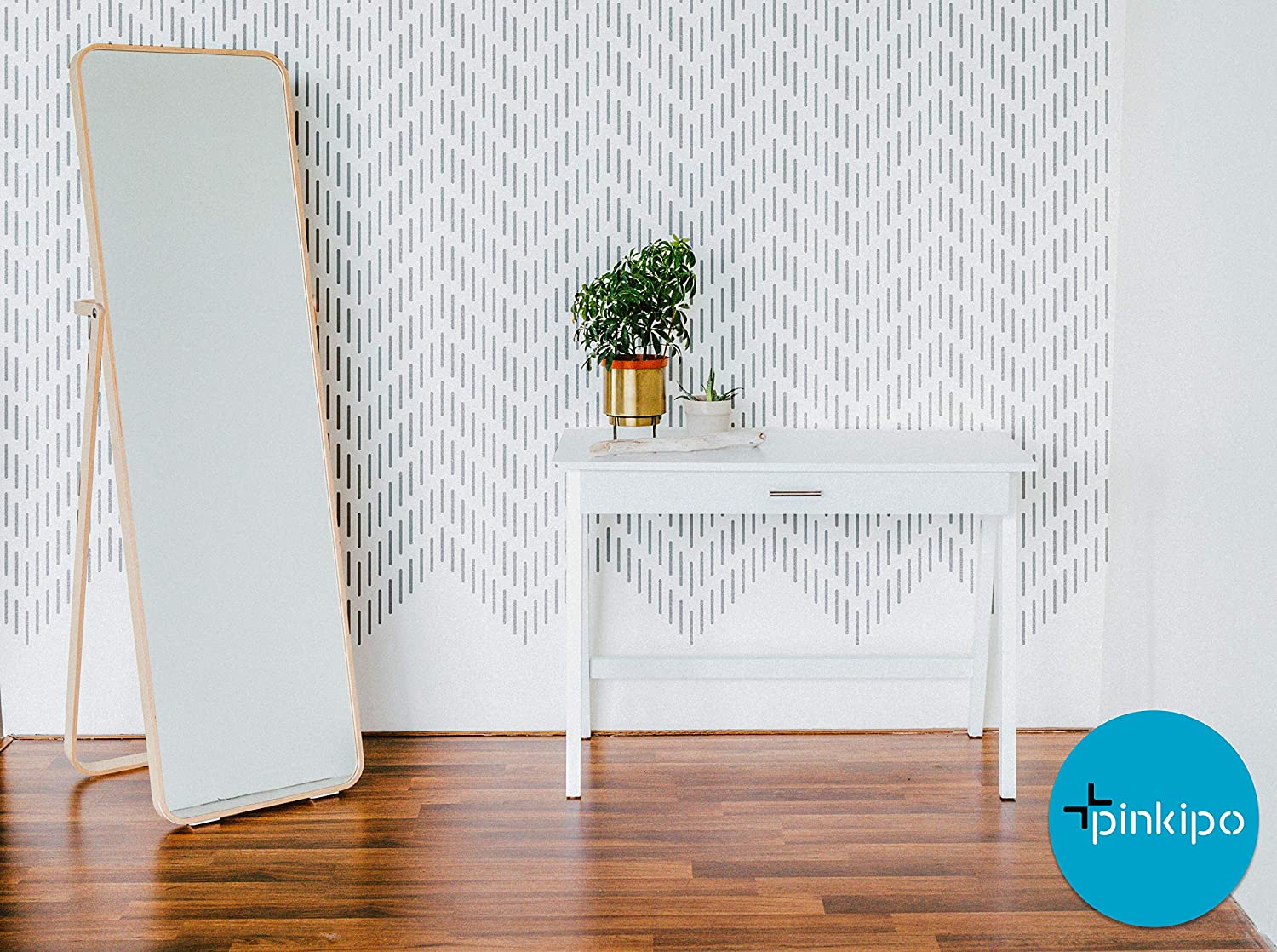 Modern Wall Stencils for Painting Wall Stencil Tribal wall stencil HERRINGBONE WALL STENCIL Stencils For Walls Chevron Wall Rug Pattern