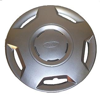 """Ford Genuine Parts - Tapacubos Fiesta MK6 (14"""", 1 unidad, modelos a"""