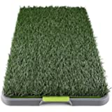 Paws & Pals Puppy Training Pad Grass Indoor Potty Trainer Pee Pad Tray for Pet Dog Cat Outdoor Restroom Patch