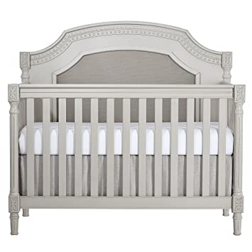Amazon Com Evolur Julienne 5 In 1 Convertible Crib Dove Grey Baby