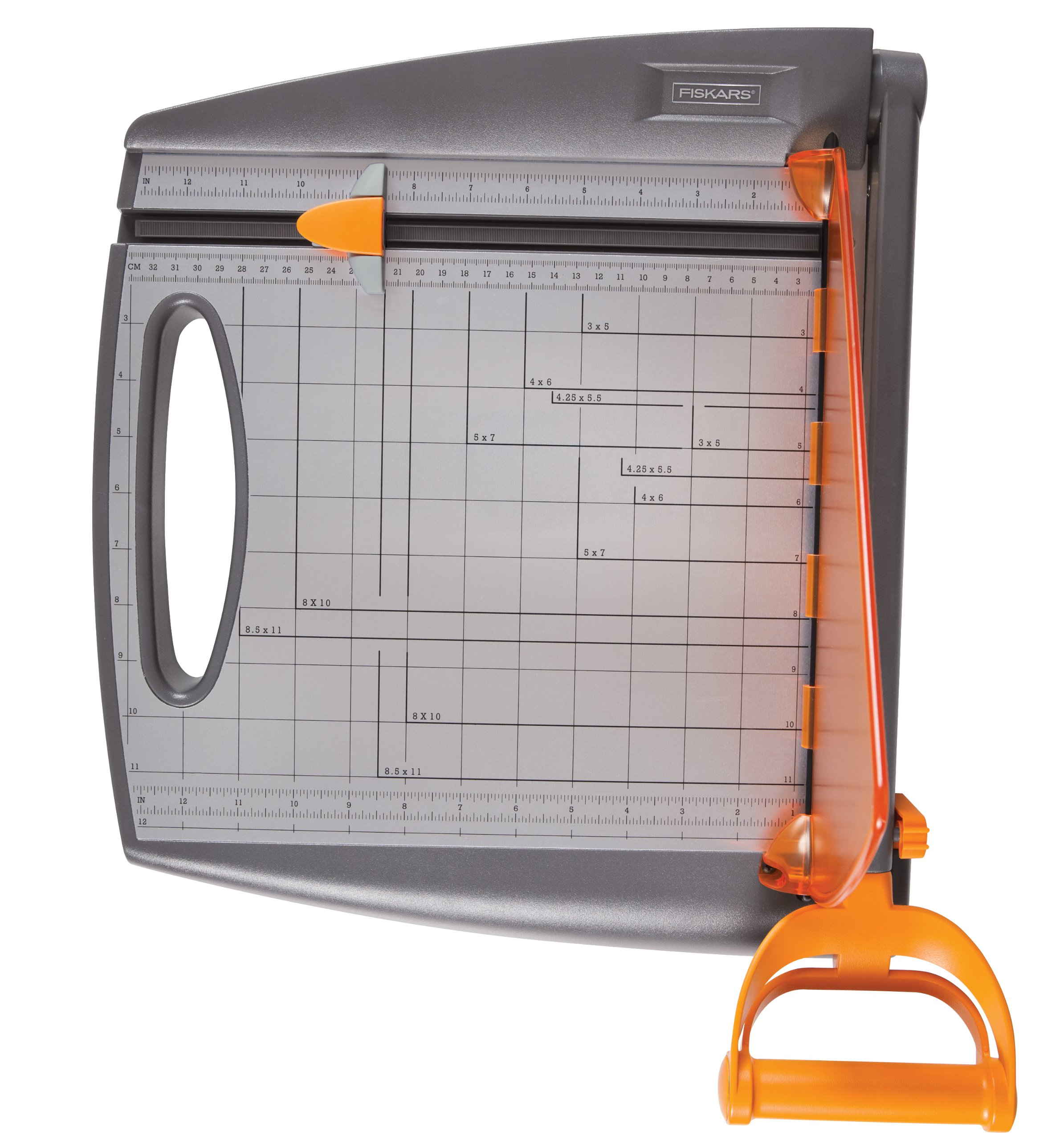 Fiskars 197300-1001 Paper Crafting Bypass Trimmer, 12-Inch by Fiskars (Image #3)