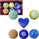 Vegan Bath Bomb Gift Sets, Handmade in USA with Organic Coconut Oil and Essential Oils, Cruelty Free