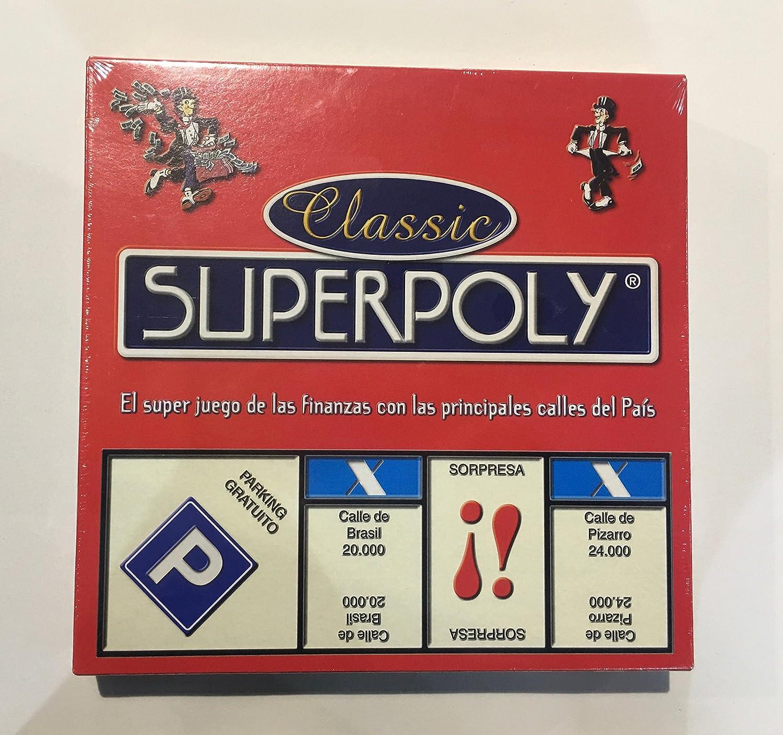 Falomir Superpoly, Juego de Mesa, Clásicos, Multicolor (646375 ...