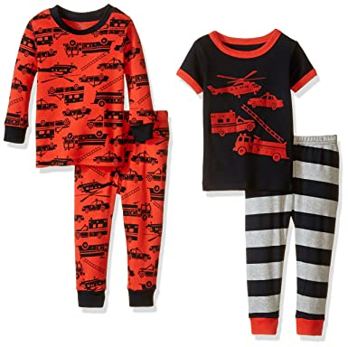f9ebec76d Amazon.com  Carter s 4-piece Cotton Pajama Set  Infant And Toddler ...