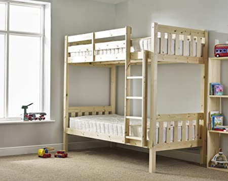 Adult Bunk Bed With Mattresses 3ft Single Bunk Bed Very Strong