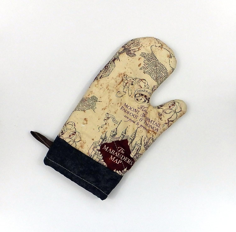 Harry Potter Marauders Map Oven Mitt