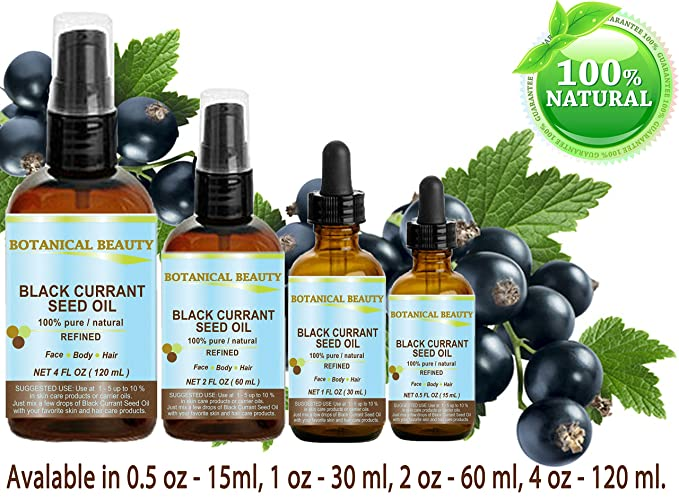 BLACK CURRANT SEED OIL 100% Pure / Natural / Undiluted / Refined Cold Pressed Carrier Oil. 0.5 Fl.oz.: Amazon.es: Electrónica