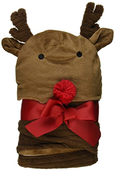 96e6ab38059 Amazon.com  Mud Pie Reindeer Bunting and Cap Set