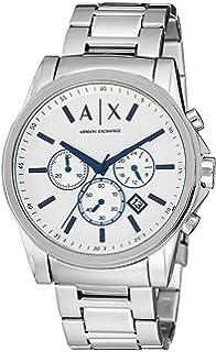 f696ee2a Amazon.com: Armani Exchange Men's AX2103 Silver Watch: Armani ...