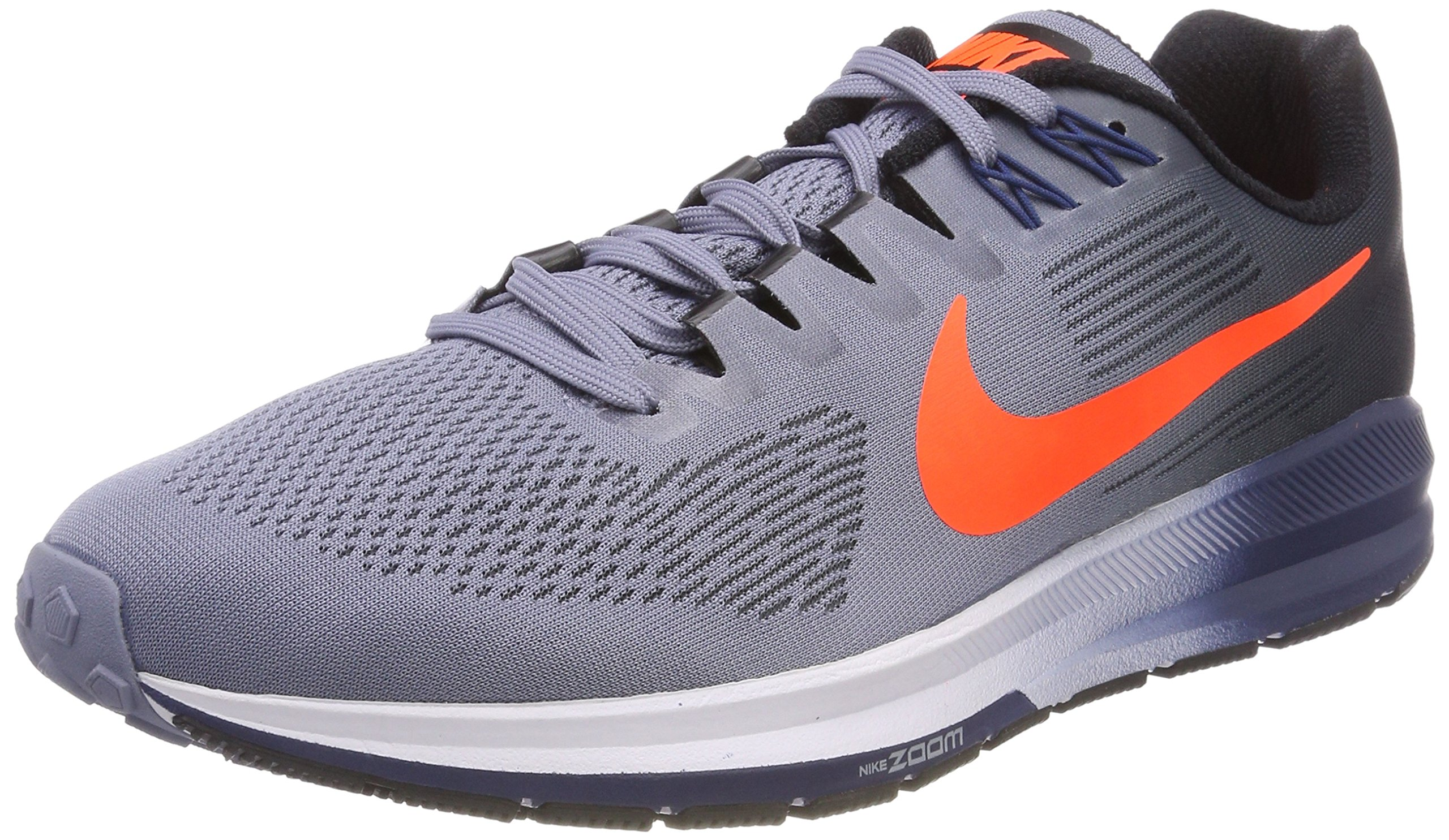 b67ef0f1144d Galleon - NIKE Men s Air Zoom Structure 21 Dark Sky Blue Total Crimson Running  Shoe 7.5 Men US