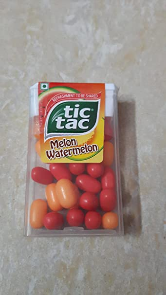 Amazon.com : Tic Tac Melon Watermelon - 12.6g (Pack of 12) : Grocery ...