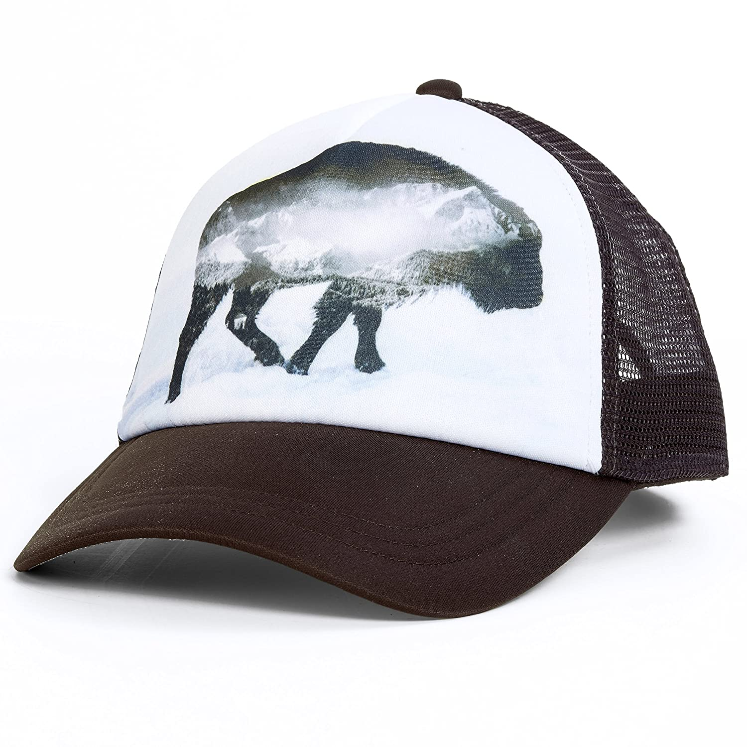 Turtle Fur Picture This Trucker B07C998M38 Buffalo Being Buffalo Being