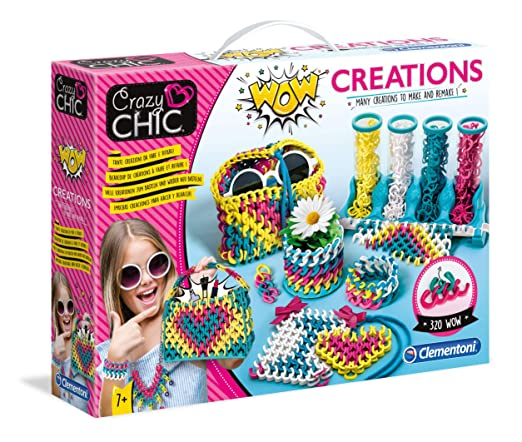 Amazon.com: Clementoni Crazy Chic-Wow Creations 18540 ...