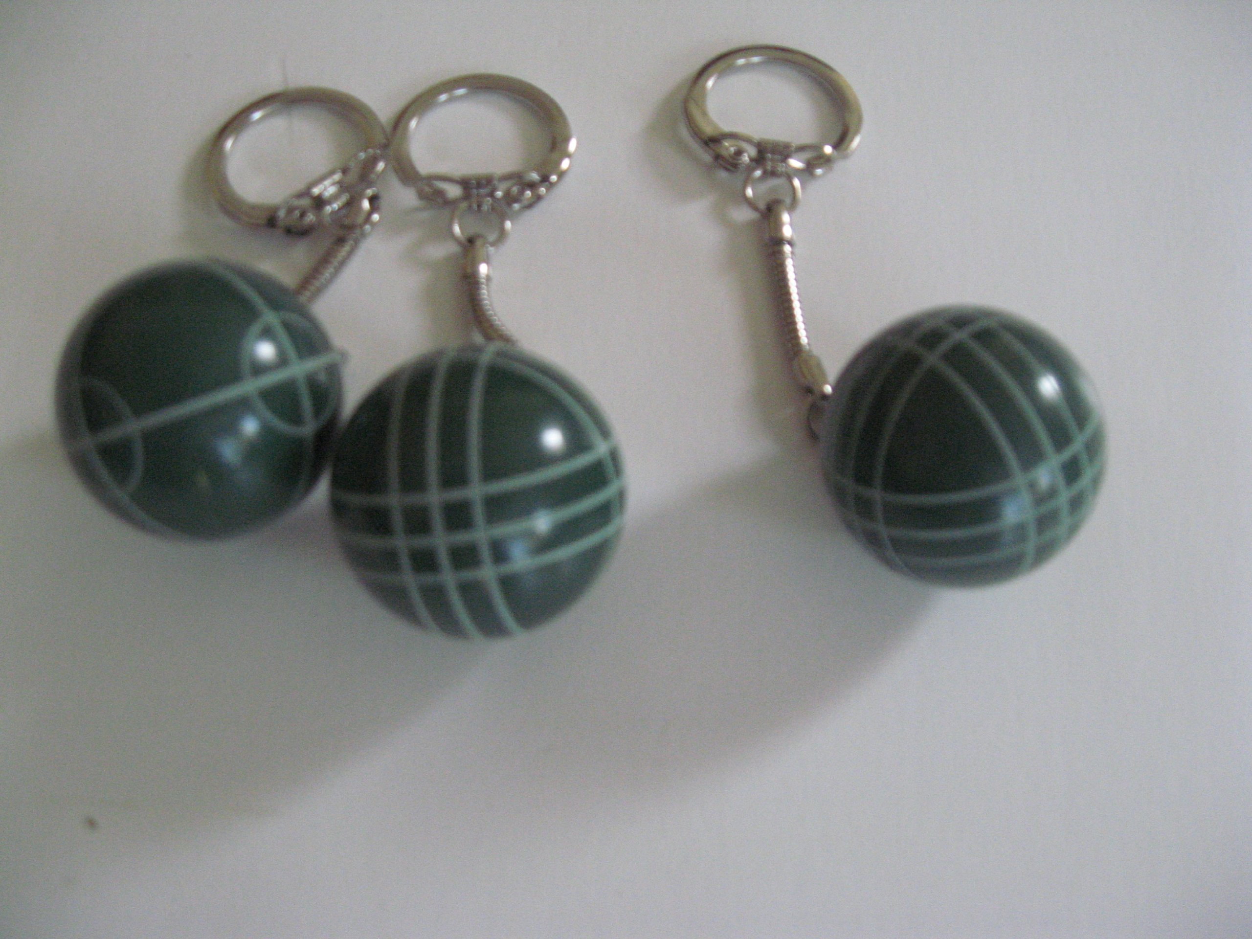 Regent-Halex Bocce Ball Keychain - pack of 3 by Regent-Halex