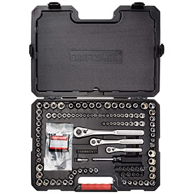 CRAFTSMAN Mechanics Tool Kit, 1/4-Inch Drive, 193 Pieces (939484) - Hand Tool Sets - .com