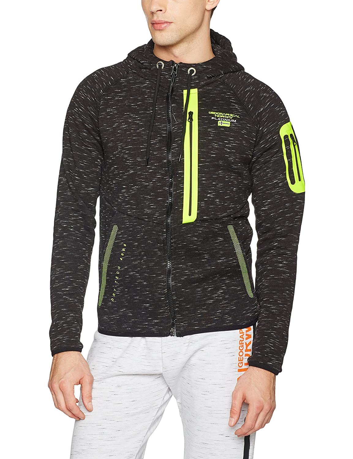 Geographical Norway Galvoda Men, Pull de Sport Homme SN202H/GN