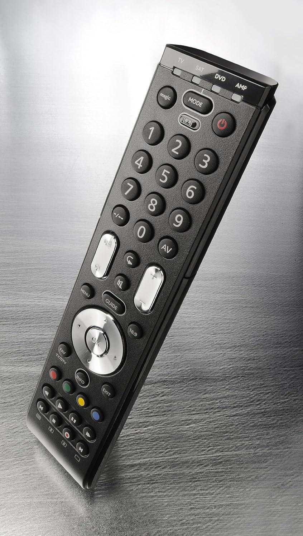 One For All URC7110 EssenceTV Telecomando Universale Nero per TV di Tutte le Marche