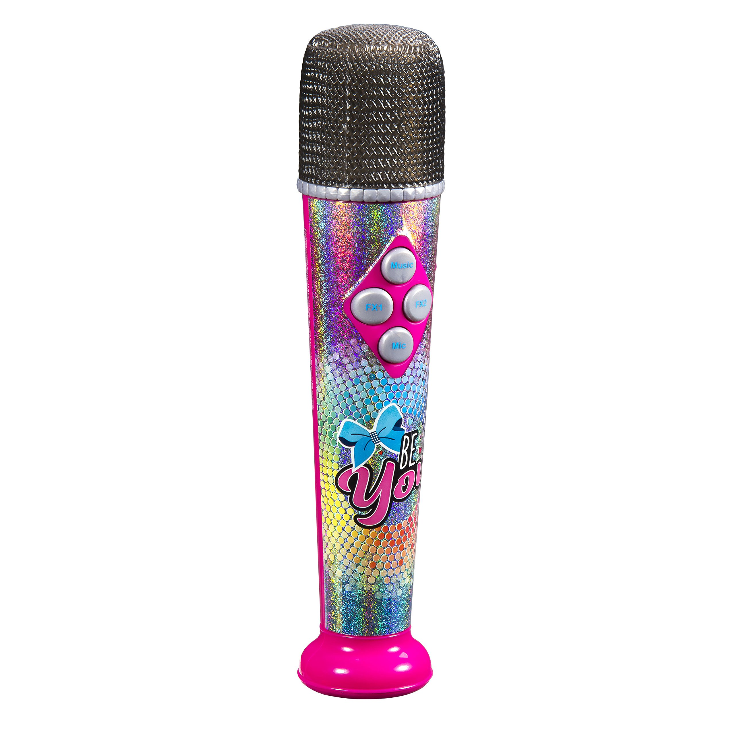 Jojo Siwa Sing Along MP3 Microphone with Built in Speaker Sing to The Built in Song or Connect to Your MP3 Player and Sing to Whatever You Like with The Real Working MIc by eKids (Image #3)