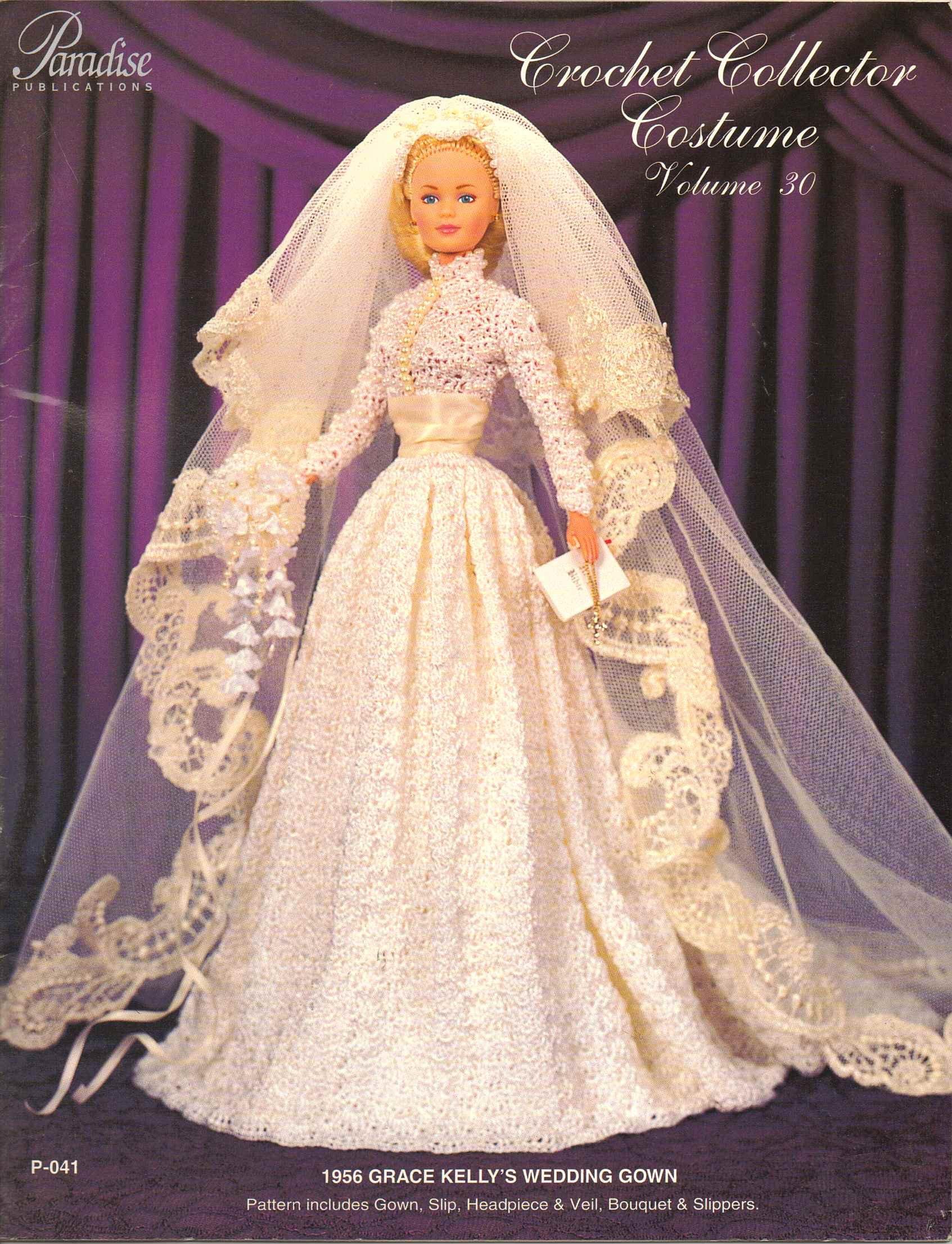 Crochet Collector Costume 1956 Grace Kelly\'s Wedding Gown: Sandra ...