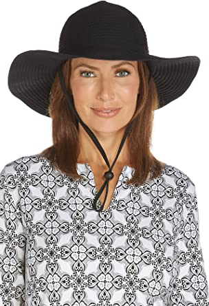 a7f81e0530f Coolibar UPF 50+ Women s Shapeable Travel Sun Hat - Sun Protective (One Size -