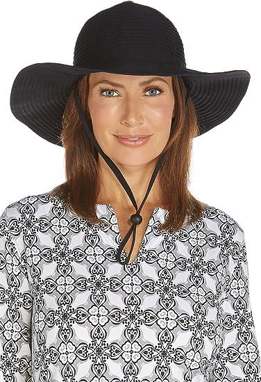 Coolibar UPF 50+ Women s Shapeable Travel Sun Hat - Sun Protective (One  Size- ddfc257ff907