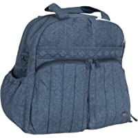 Lug Boxer Gym/Overnight Bag, Heather Navy Duffel, One Size