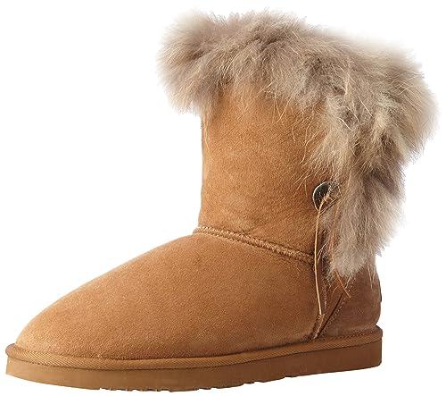 02a510e021b Koolaburra Women's Trishka Short Fur Snow Boot