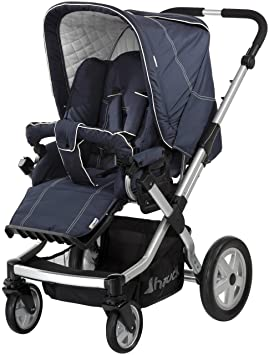 Hauck 412282 Boston 4S - Carrito de bebé convertible, color azul ...