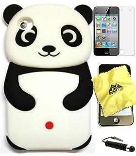 Amazon BUKIT CELL TM PURPLE Cute Panda 3D Cartoon Soft