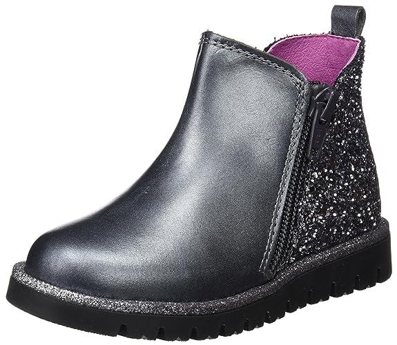 Pablosky 448855, Botines para Niñas, (Gris), 25 EU: Amazon.es: Zapatos y complementos