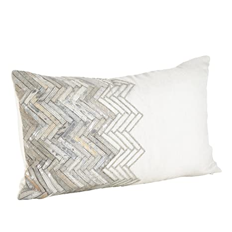 Amazon.com: Saro Beaded Chevron Diseño de Vaca Estilo de ...